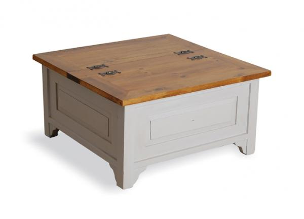 Vintage Square Trunk Coffee Table Bb46