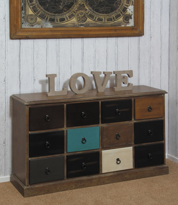 new products 2acde 02656 Brooklyn Multi Drawer sideboard