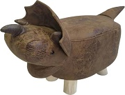 Highland cow Voyage footstool